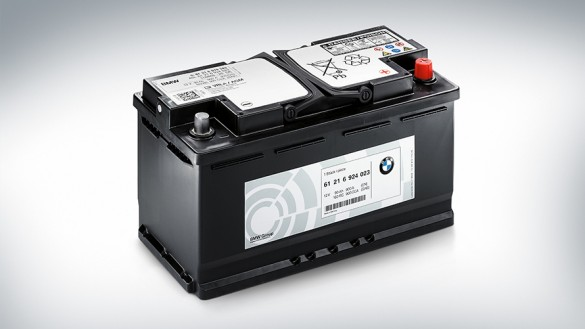 BMW Battery with AGM technology.