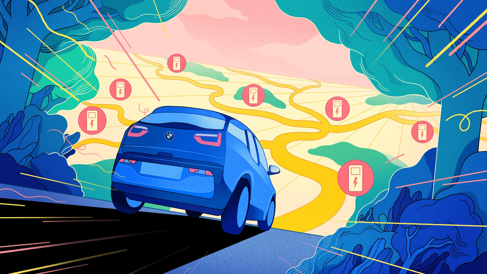 Powering Up How To Charge An Electric Car Bmw Com,Pictures For Bathroom Walls
