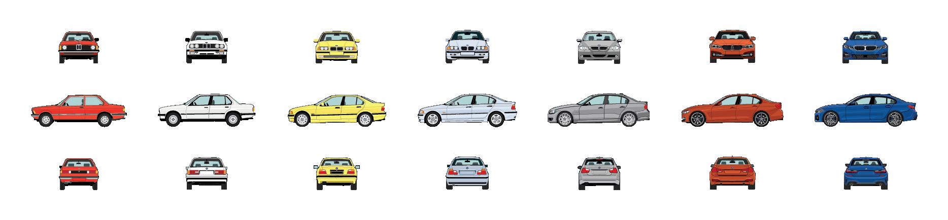 BMW 3 Series: a Journey through the Generations | BMW com