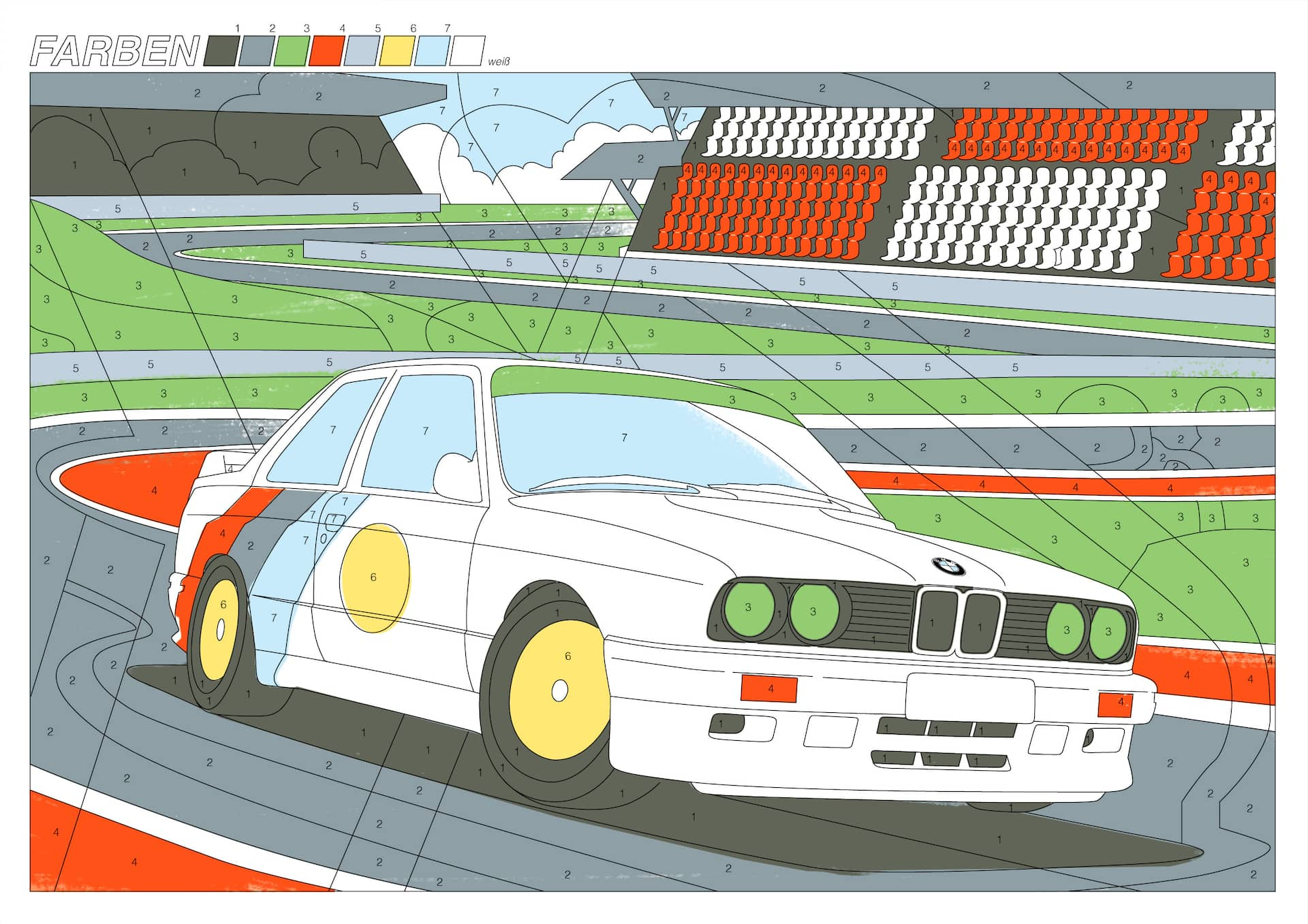 Die schönsten BMW Ausmalbilder  BMW.com